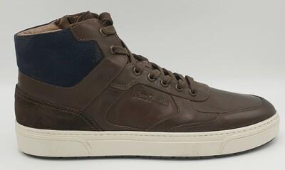 Sneakers alta Nero Giardini art. A901260U/300 colore testa di moro