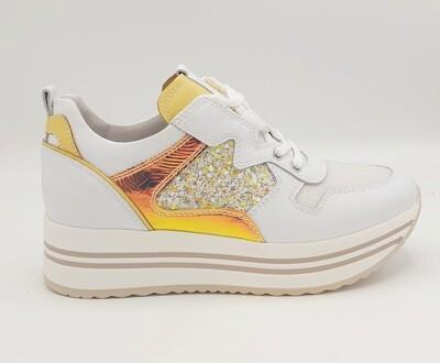 Sneakers Nero Giardini art. E115193D/707 colore bianco