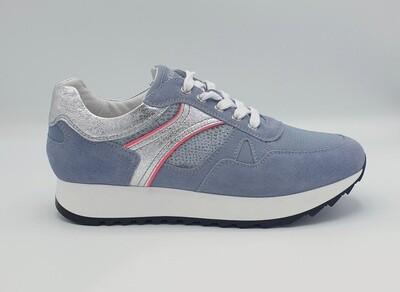 Sneakers Nero Giardini art. E010523D/239 colore celeste
