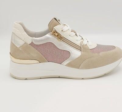 Sneakers Nero Giardini art. P907722D/702 colore beige