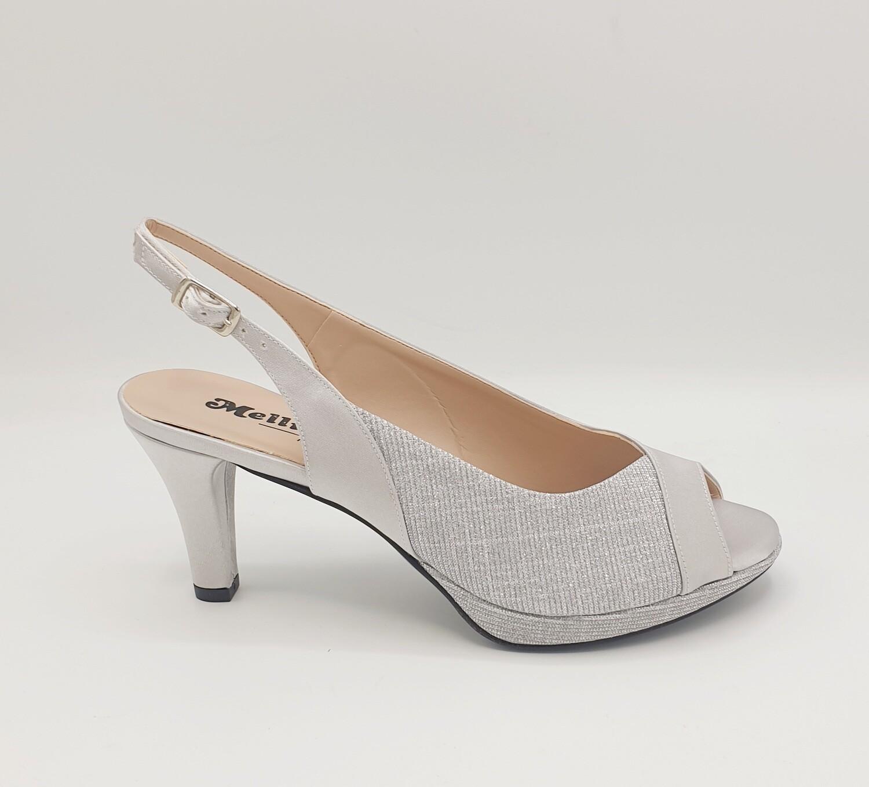 Sandalo Melluso art. J593AN colore argento