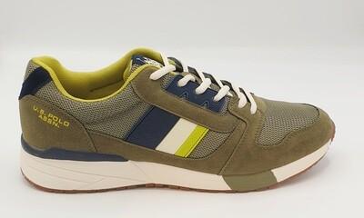 Sneakers uomo U.S. POLO ASSN. art. CLEM colore verde
