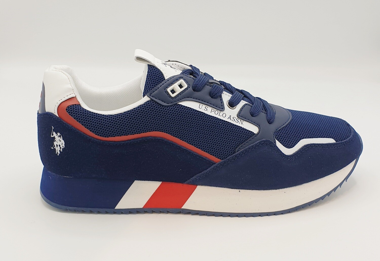 Sneakers uomo U.S. POLO ASSN. art. LEWIS143 colore blu