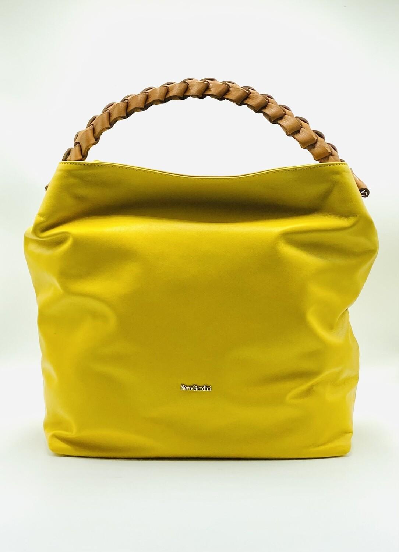 Borsa Nero Giardini art.E149014D/608 colore giallo