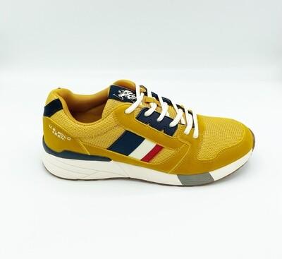 Sneakers uomo U.S. POLO ASSN. art. CLEM colore ocra