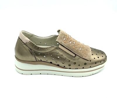 Sneakers donna Melluso art.R20032 colore cannella