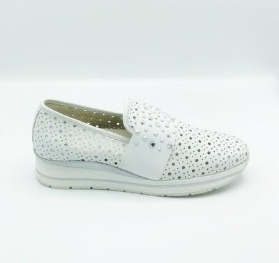 Sneakers donna Melluso art.R20035 colore bianco