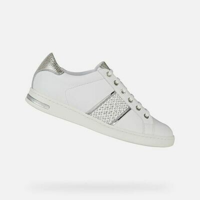 Sneakers Geox art.D151BC colore bianco-argento