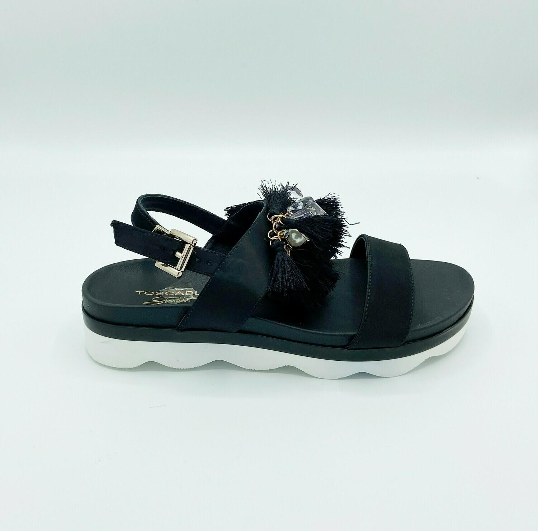 Sandalo Tosca Blu art.SS1908S145 colore nero