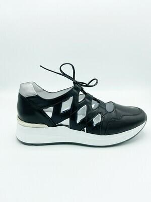 Sneakers Nero Giardini art.P907723D/100 colore nero