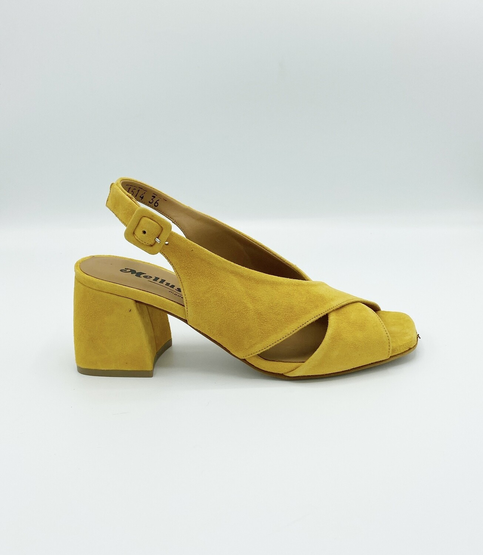 Sandalo Melluso art.N700 colore ocra