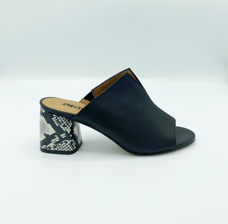 Sandalo Melluso art.N629P colore nero
