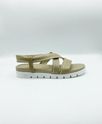 Sandalo Nero Giardini art.P908220D/410 colore sabbia