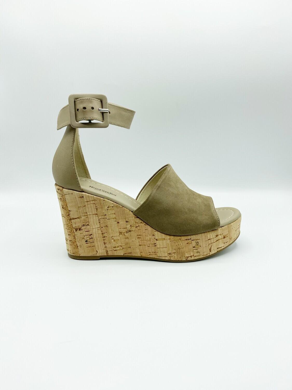 Sandalo Nero Giardini art.E012411D/405 colore fango