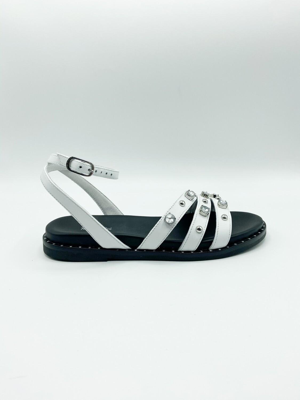 Sandalo Nero Giardini art.E115520D/707 colore bianco