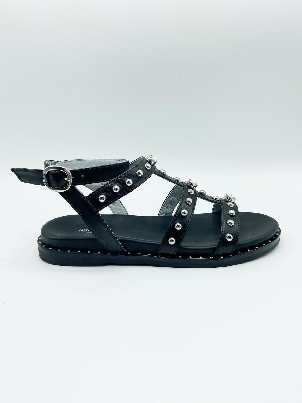 Sandalo Nero Giardini art.E115521D/100 colore nero