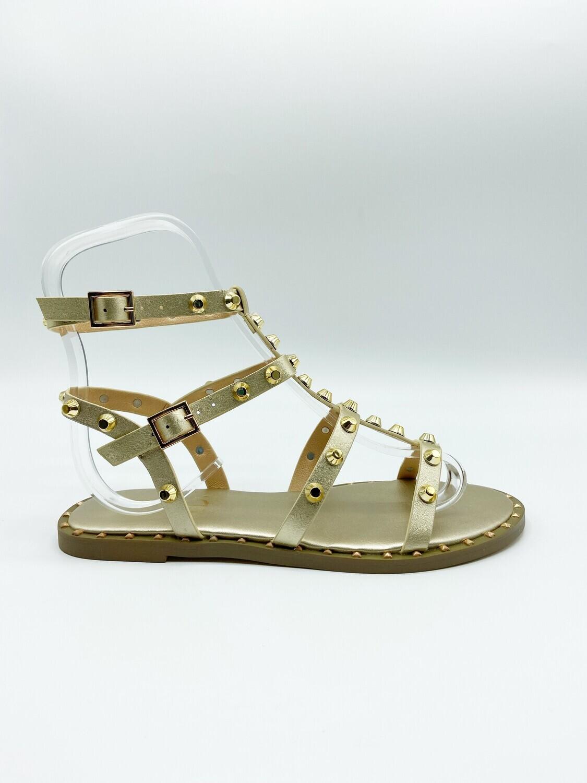 Sandalo Exè art.VF239-6 colore oro