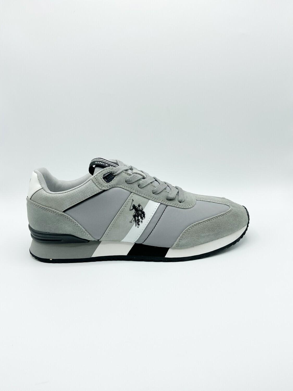 Sneakers uomo U.S. POLO ASSN. art.AUSTEN-LIGR colore grigio