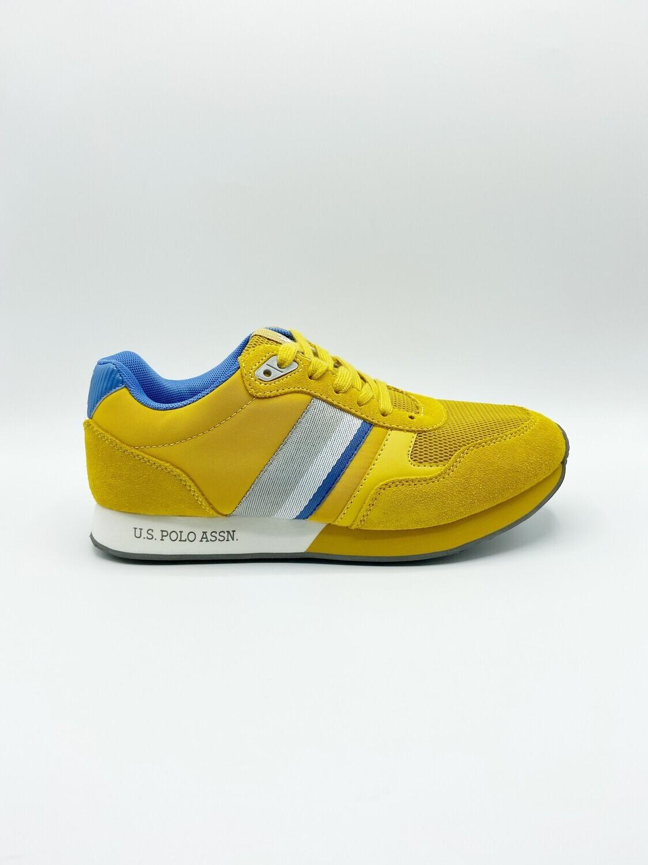 Sneakers uomo U.S. POLO ASSN. art.JULIUS-YEL colore giallo