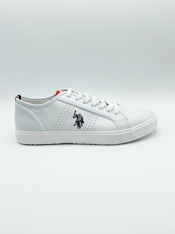 Sneakers uomo U.S. POLO ASSN. art.JEREMIAH-WHI colore bianco