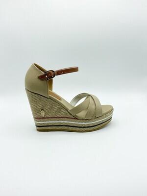 Sandalo U.S. Polo Assn. Aylin054 colore beige