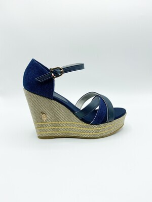 Sandalo U.S. Polo Assn. Aylin054 colore blu