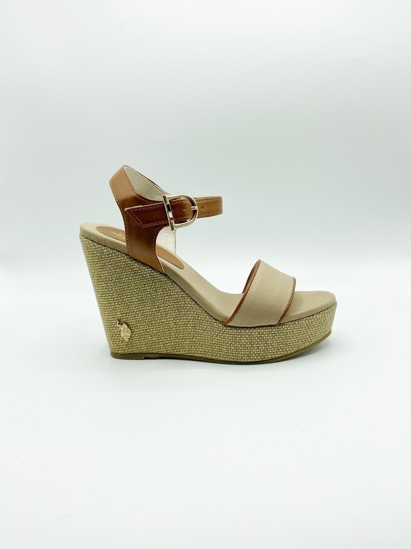 Sandalo U.S. Polo Assn. Anastasia colore beige