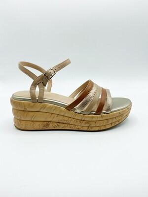 Sandalo Geox art.D02GYB colore  cognac