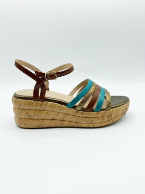 Sandalo Geox art.D02GYB colore turchese