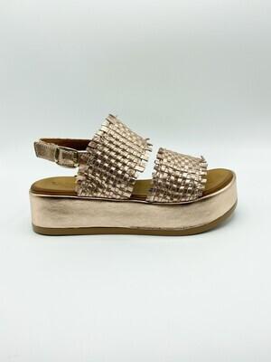 Sandalo Melluso art.K56003 colore rosa gold