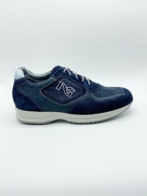 Sneakers Nero Giardini art.P603950U/207 colore blu