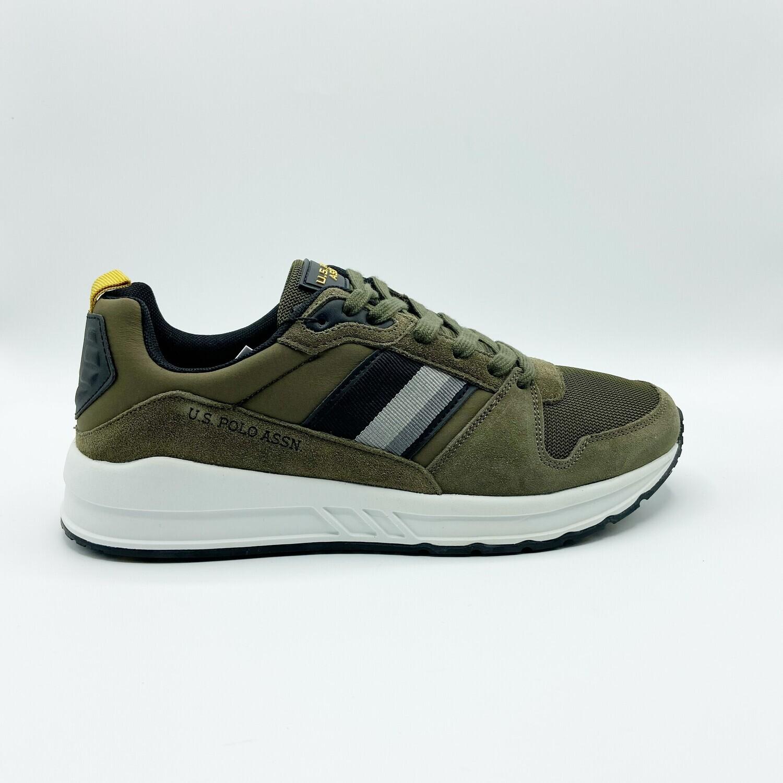 Sneakers U.S. POLO ASSN. art.POWEL001 colore militare