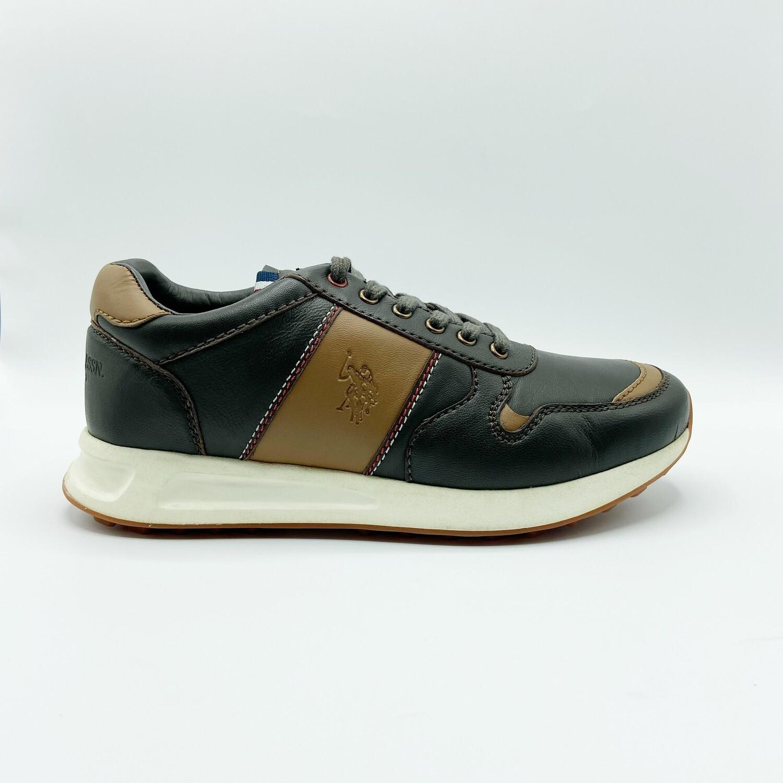 Sneakers U.S. POLO ASSN. art.NOVAK001 colore marrone