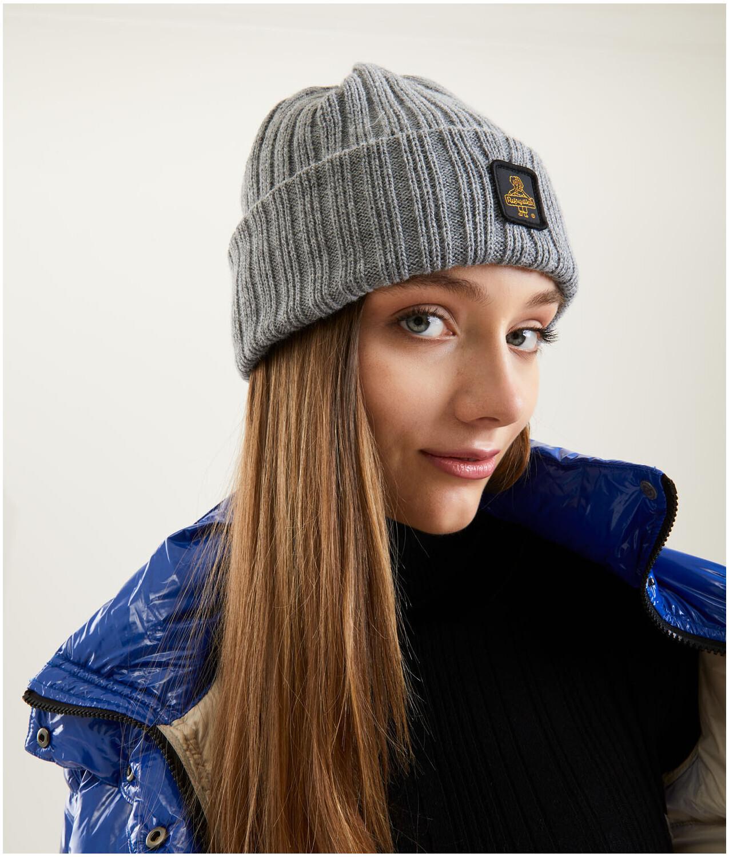 Cappellino Refrigiwear art.B01600 MA9083 Colorado Hat colore grigio melange medio