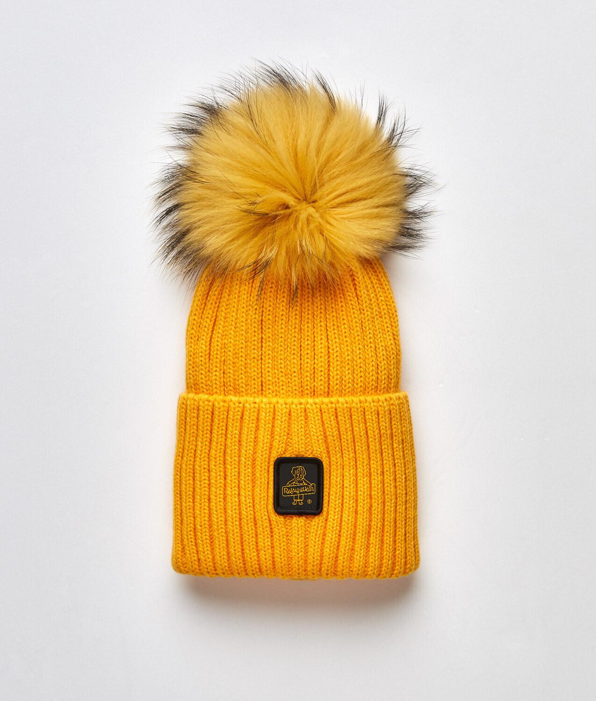 Cappellino Refrigiwear art.B05500 MA9083 Snow Flake Hat colore ocra