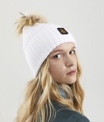 Cappellino Refrigiwear art.B05500 MA9083 Snow Flake Hat colore bianco ottico
