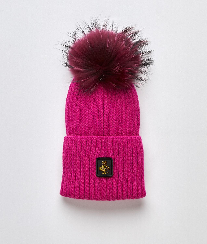 Cappellino Refrigiwear art.B05500 MA9083 Snow Flake Hat colore fuxia