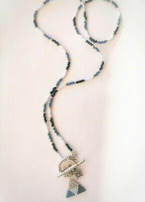 """Necklace """"Rose des vents"""""""