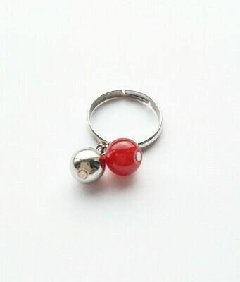 "Ring ""Marinière"" rouge"