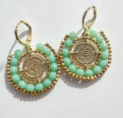 """Earrings """"Byzance"""""""
