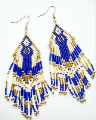 """Earrings """" Sacajawea"""""""
