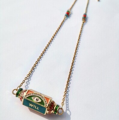 Lucky necklace spicy