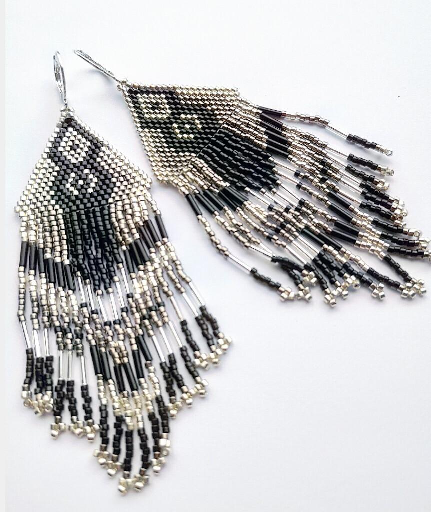 """Earrings """"Sacajawea"""""""