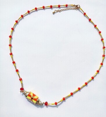 Lucky necklace yellow