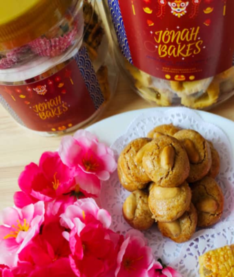 Chinese New Year Cookies: Peanut Cookies