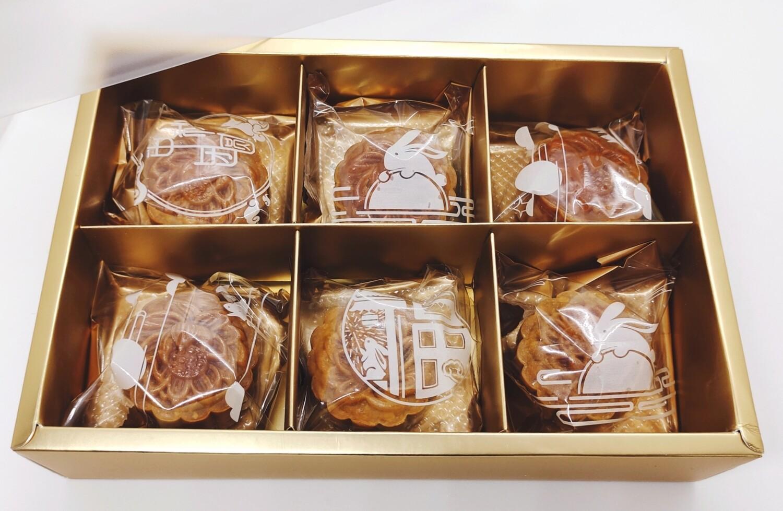 6 Mini Mooncakes