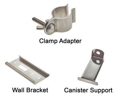 Canister Brackets