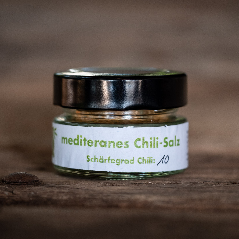 Mediterranes Chili Salz