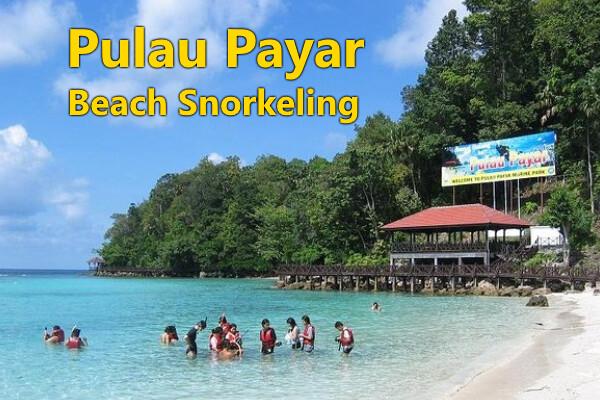 PULAU PAYAR  (Beach Snorkeling)