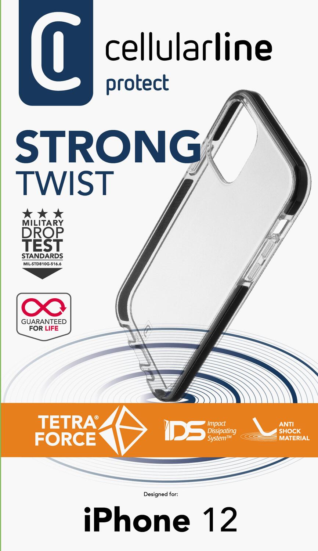 iPhone 12 mini, hoesje tetraforce shock-twist, transparant